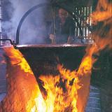 Cottura a legna Parmigiano Reggiano