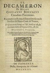 Copertina Decamerone