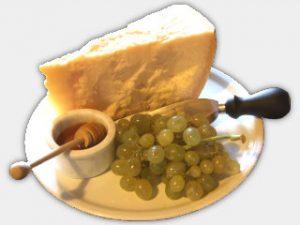 Parmigiano e uva
