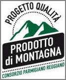 Logo progetto qualità prodotto di montagna